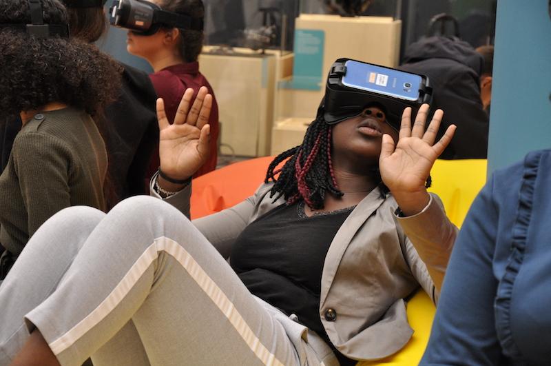 Réalité virtuelle à l'Atrium