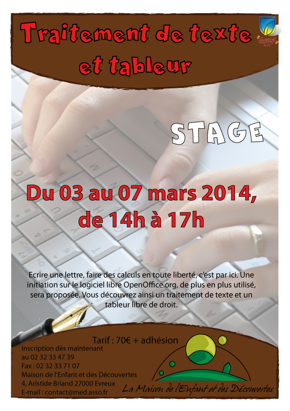 stage informatique adulte