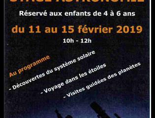 Stage astronomie - Maison de l'Enfant et des Découvertes à Evreux